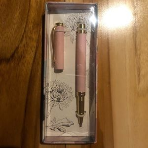 Indigo Rollerball Pen Refillable - Black Ink